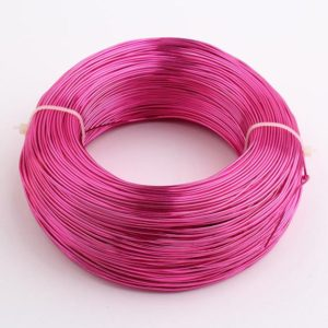 Shop Wire! Aluminum Pink Jewelry Wire, Round Wire, 16ga Wire, 1.2 mm Round Wire, Wire Wrapping, Jewelry Making Wire, Plated Wire, Jewelry Supplies | Shop jewelry making and beading supplies, tools & findings for DIY jewelry making and crafts. #jewelrymaking #diyjewelry #jewelrycrafts #jewelrysupplies #beading #affiliate #ad