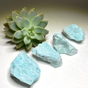 Shop Raw & Rough Amazonite Stones! Amazonite Stone Rough | Natural genuine stones & crystals in various shapes & sizes. Buy raw cut, tumbled, or polished gemstones for making jewelry or crystal healing energy vibration raising reiki stones. #crystals #gemstones #crystalhealing #crystalsandgemstones #energyhealing #affiliate #ad