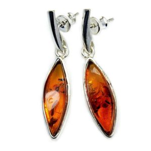 Shop Amber Earrings! Eternal Flame' Natural Amber Earrings, Sterling Silver Earrings, Autumn Earrings, Fall Earrings,  Z908 The Silver Plaza   Natural genuine Amber earrings. Buy crystal jewelry, handmade handcrafted artisan jewelry for women.  Unique handmade gift ideas. #jewelry #beadedearrings #beadedjewelry #gift #shopping #handmadejewelry #fashion #style #product #earrings #affiliate #ad
