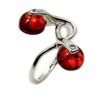 Natural Amber Ring – Sterling Silver Size 7.5 Z408 Jewelry Gift | Natural genuine Gemstone jewelry. Buy crystal jewelry, handmade handcrafted artisan jewelry for women.  Unique handmade gift ideas. #jewelry #beadedjewelry #beadedjewelry #gift #shopping #handmadejewelry #fashion #style #product #jewelry #affiliate #ad