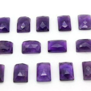 Shop Amethyst Cabochons! Rectangular Amethyst gemstone,13x18mm,amethyst cabochons,loose stones,gemstone cabochons,faceted gemstones,rectangle – 1 stone | Natural genuine stones & crystals in various shapes & sizes. Buy raw cut, tumbled, or polished gemstones for making jewelry or crystal healing energy vibration raising reiki stones. #crystals #gemstones #crystalhealing #crystalsandgemstones #energyhealing #affiliate #ad