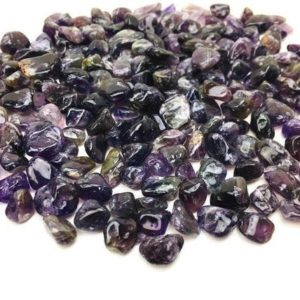 Shop Tumbled Amethyst Crystals & Pocket Stones! Amethyst Crystal (100G) Tumbled XS Stones Mini Polished Gemstone Natural Lot Bulk Crystal Dark Purple Chip | Natural genuine stones & crystals in various shapes & sizes. Buy raw cut, tumbled, or polished gemstones for making jewelry or crystal healing energy vibration raising reiki stones. #crystals #gemstones #crystalhealing #crystalsandgemstones #energyhealing #affiliate #ad