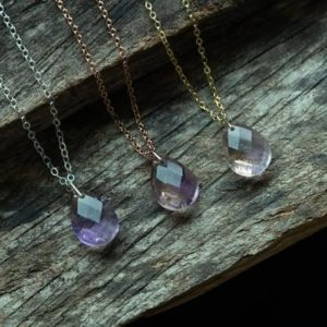 Shop Ametrine Necklaces! Ametrine Necklace – 14k Gold filled necklace – Natural gemstone necklace – Ametrine drop pendant – Healing Crystal necklace – Gift for her | Natural genuine Ametrine necklaces. Buy crystal jewelry, handmade handcrafted artisan jewelry for women.  Unique handmade gift ideas. #jewelry #beadednecklaces #beadedjewelry #gift #shopping #handmadejewelry #fashion #style #product #necklaces #affiliate #ad