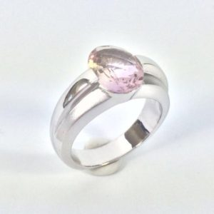 Shop Ametrine Rings! Ametrine Silver Ring // 925 Sterling Silver // Matte Rhodium Finish // Modern Design // Size #7 | Natural genuine Ametrine rings, simple unique handcrafted gemstone rings. #rings #jewelry #shopping #gift #handmade #fashion #style #affiliate #ad