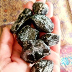 Shop Apache Tears Stones & Crystals! Apache Tears 15.8g – 47.9g large Raw Stones; obsidian healing   Natural genuine stones & crystals in various shapes & sizes. Buy raw cut, tumbled, or polished gemstones for making jewelry or crystal healing energy vibration raising reiki stones. #crystals #gemstones #crystalhealing #crystalsandgemstones #energyhealing #affiliate #ad