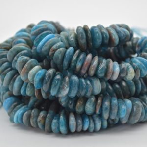 """Shop Apatite Chip & Nugget Beads! High Quality Grade A Natural Apatite Semi-precious Gemstone Chunky Chips / Nuggets Beads – approx 8mm – 15mm x 1mm – 6mm –  15.5"""" strand   Natural genuine chip Apatite beads for beading and jewelry making.  #jewelry #beads #beadedjewelry #diyjewelry #jewelrymaking #beadstore #beading #affiliate #ad"""