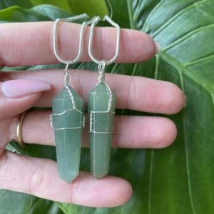 Shop Aventurine Necklaces! Green aventurine Necklace, green crystal necklace, prosperity, leadership, love   Natural genuine Aventurine necklaces. Buy crystal jewelry, handmade handcrafted artisan jewelry for women.  Unique handmade gift ideas. #jewelry #beadednecklaces #beadedjewelry #gift #shopping #handmadejewelry #fashion #style #product #necklaces #affiliate #ad