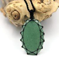 Aventurine Necklace, Green Crystal Jewelry, Women's Healing Stone Pendant, Birthday Gift For Girlfriend | Natural genuine Gemstone jewelry. Buy crystal jewelry, handmade handcrafted artisan jewelry for women.  Unique handmade gift ideas. #jewelry #beadedjewelry #beadedjewelry #gift #shopping #handmadejewelry #fashion #style #product #jewelry #affiliate #ad
