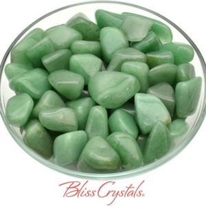 Shop Tumbled Aventurine Crystals & Pocket Stones! Dark GREEN AVENTURINE Tumbled Stone for Prosperity #GA35 | Natural genuine stones & crystals in various shapes & sizes. Buy raw cut, tumbled, or polished gemstones for making jewelry or crystal healing energy vibration raising reiki stones. #crystals #gemstones #crystalhealing #crystalsandgemstones #energyhealing #affiliate #ad