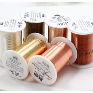 Bead smith Tarnish Wire Beadsmith LACQUERED Tarnish Resistant Craft Wire | Gold Wire, Silver Wire, Copper Wire | Beading Wire Making Jewelry | Shop jewelry making and beading supplies, tools & findings for DIY jewelry making and crafts. #jewelrymaking #diyjewelry #jewelrycrafts #jewelrysupplies #beading #affiliate #ad