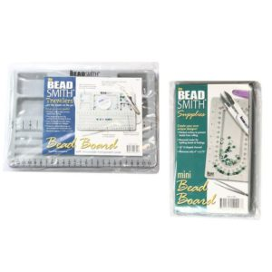 Shop Bead Boards & Trays! BeadSmith® Mini Bead Boards – Flocked Surface – For Sorting Beads – Jewelry Making/Beading Tool | Shop jewelry making and beading supplies, tools & findings for DIY jewelry making and crafts. #jewelrymaking #diyjewelry #jewelrycrafts #jewelrysupplies #beading #affiliate #ad