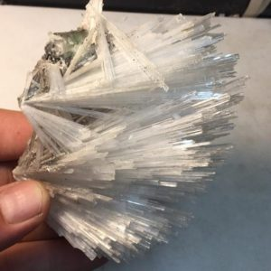 Shop Raw & Rough Scolecite Stones! Big Scolecite Spray over Green and Red Apophyllite Crystal Cluster | Natural genuine stones & crystals in various shapes & sizes. Buy raw cut, tumbled, or polished gemstones for making jewelry or crystal healing energy vibration raising reiki stones. #crystals #gemstones #crystalhealing #crystalsandgemstones #energyhealing #affiliate #ad