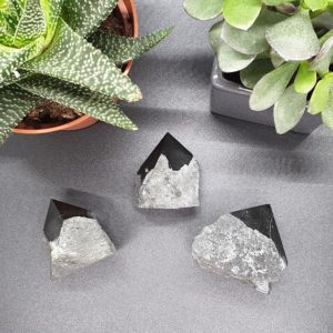 Shop Obsidian Points & Wands! BLACK OBSIDIAN/ Raw Crystal Point | Natural genuine stones & crystals in various shapes & sizes. Buy raw cut, tumbled, or polished gemstones for making jewelry or crystal healing energy vibration raising reiki stones. #crystals #gemstones #crystalhealing #crystalsandgemstones #energyhealing #affiliate #ad