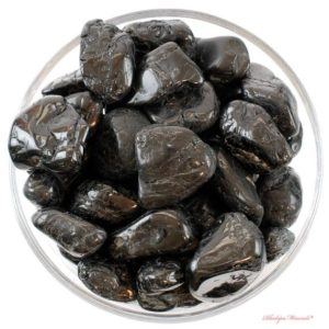 Shop Tumbled Black Tourmaline Crystals & Pocket Stones! 1 LARGE Black Tourmaline Tumbled Stone, Healing Stones, Healing Crystals, L Black Tourmaline Stones, Healing Tourmaline Stones, Gift | Natural genuine stones & crystals in various shapes & sizes. Buy raw cut, tumbled, or polished gemstones for making jewelry or crystal healing energy vibration raising reiki stones. #crystals #gemstones #crystalhealing #crystalsandgemstones #energyhealing #affiliate #ad
