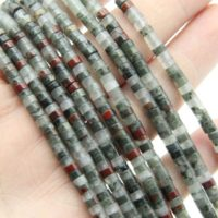 2x3mm / 2x4mm African Blood Stone Rondelle Beads, for Diy Making Beads, wholesale Gemstone Beads, polished Bracelet Beads / necklace Beads. | Natural genuine Gemstone jewelry. Buy crystal jewelry, handmade handcrafted artisan jewelry for women.  Unique handmade gift ideas. #jewelry #beadedjewelry #beadedjewelry #gift #shopping #handmadejewelry #fashion #style #product #jewelry #affiliate #ad
