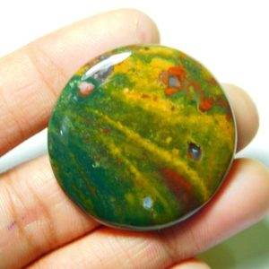 Shop Bloodstone Cabochons! Natural Bloodstone Cabochons,Bloodstone Gemstone,Bloodstone Loose Stone,Bloodstone Semi Precious,Bloodstone Jewelry Making 65Cts.37X37MM | Natural genuine stones & crystals in various shapes & sizes. Buy raw cut, tumbled, or polished gemstones for making jewelry or crystal healing energy vibration raising reiki stones. #crystals #gemstones #crystalhealing #crystalsandgemstones #energyhealing #affiliate #ad