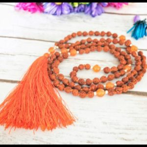 Shop Carnelian Necklaces! Rudraksha necklace for women,japa mala beads 108, prayer beads 108 mala necklace, carnelian mala necklace men, 108 mala men, yoga lover gift | Natural genuine Carnelian necklaces. Buy crystal jewelry, handmade handcrafted artisan jewelry for women.  Unique handmade gift ideas. #jewelry #beadednecklaces #beadedjewelry #gift #shopping #handmadejewelry #fashion #style #product #necklaces #affiliate #ad
