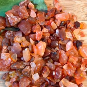 Shop Tumbled Carnelian Crystals & Pocket Stones! Carnelian Tumbled Chips Gift Bag jewelry making crafts crafting roller ball bottle | Natural genuine stones & crystals in various shapes & sizes. Buy raw cut, tumbled, or polished gemstones for making jewelry or crystal healing energy vibration raising reiki stones. #crystals #gemstones #crystalhealing #crystalsandgemstones #energyhealing #affiliate #ad