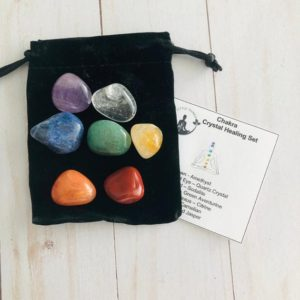 Shop Crystal Healing! Chakra Stone Set, Chakra Stones, 7 Chakra Crystals, Chakra Set, Crystal Therapy, Crystals, Tumbled Stones, Reiki, Spirituality, Metaphysical | Shop jewelry making and beading supplies, tools & findings for DIY jewelry making and crafts. #jewelrymaking #diyjewelry #jewelrycrafts #jewelrysupplies #beading #affiliate #ad