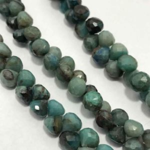 Shop Chrysocolla Faceted Beads! 6 -7 mm Chrysocolla Faceted Onion Shape Beads ,Chrysocolla Faceted Beads,Chrysocolla Onion Shape Beads, Green Chrysocolla Beads   Natural genuine faceted Chrysocolla beads for beading and jewelry making.  #jewelry #beads #beadedjewelry #diyjewelry #jewelrymaking #beadstore #beading #affiliate #ad