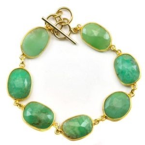 Shop Chrysoprase Bracelets! Chrysoprase Bracelet Green Chain Link Beaded 14k Gold Filled Adjustable 7 8 Inches Natural Soft Pale Green Colors simple Faceted Off Round | Natural genuine Chrysoprase bracelets. Buy crystal jewelry, handmade handcrafted artisan jewelry for women.  Unique handmade gift ideas. #jewelry #beadedbracelets #beadedjewelry #gift #shopping #handmadejewelry #fashion #style #product #bracelets #affiliate #ad