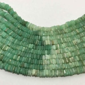 Shop Chrysoprase Bead Shapes! 4.5 mm Natural Chrysoprase Disc Square Gemstone Beads Strand Sale / Chrysoprase Beads / Chrysoprase Strand Wholesale / Square Shape Beads | Natural genuine other-shape Chrysoprase beads for beading and jewelry making.  #jewelry #beads #beadedjewelry #diyjewelry #jewelrymaking #beadstore #beading #affiliate #ad