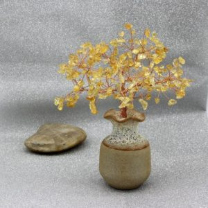 Shop Citrine Bead Shapes! Natural Citrine Beads Tree Yellow Gemstone Wire Tree Sculpture Life of Tree Ornament Lucky Tree Bonsai Tree Energy Healing Reiki Meditation | Natural genuine other-shape Citrine beads for beading and jewelry making.  #jewelry #beads #beadedjewelry #diyjewelry #jewelrymaking #beadstore #beading #affiliate #ad