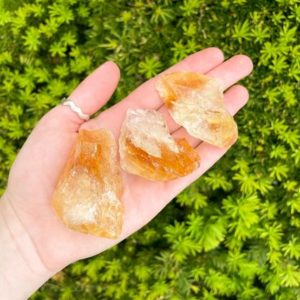 Large Raw Citrine Stone (Rough Citrine Crystal) | Natural genuine stones & crystals in various shapes & sizes. Buy raw cut, tumbled, or polished gemstones for making jewelry or crystal healing energy vibration raising reiki stones. #crystals #gemstones #crystalhealing #crystalsandgemstones #energyhealing #affiliate #ad