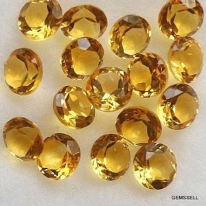 Shop Citrine Shapes! 5 Piece 6mm Citrine Faceted Round Loose Gemstone, Golden Citrine Round Faceted Loose Gemstone, Citrine Faceted Round Loose Gemstone | Natural genuine stones & crystals in various shapes & sizes. Buy raw cut, tumbled, or polished gemstones for making jewelry or crystal healing energy vibration raising reiki stones. #crystals #gemstones #crystalhealing #crystalsandgemstones #energyhealing #affiliate #ad