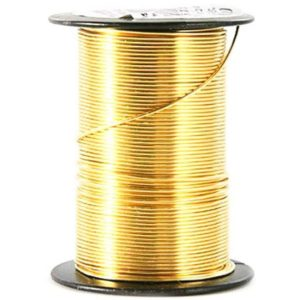 Shop Wire! CRAFT BEADERY 20-Gauge Wire GOLD for a variety of craft endeavors jewelry wire offers you 12 yds of length an ample supply 16799C 1A2A | Shop jewelry making and beading supplies, tools & findings for DIY jewelry making and crafts. #jewelrymaking #diyjewelry #jewelrycrafts #jewelrysupplies #beading #affiliate #ad