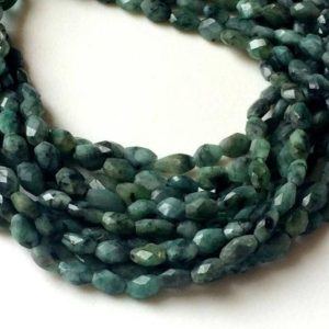 9-10mm Emerald Faceted Oval Beads, Natural Emerald Oval Nuggets, 13 Inch Emerald For Necklace, Emerald Beads (1st To 5st Options) – Apa40 | Natural genuine chip Emerald beads for beading and jewelry making.  #jewelry #beads #beadedjewelry #diyjewelry #jewelrymaking #beadstore #beading #affiliate #ad