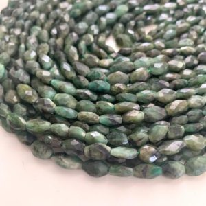 Shop Emerald Chip & Nugget Beads! Emerald nuggets – barrel | Natural genuine chip Emerald beads for beading and jewelry making.  #jewelry #beads #beadedjewelry #diyjewelry #jewelrymaking #beadstore #beading #affiliate #ad