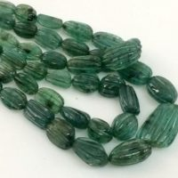 3x4mm – 13x19mm Emerald Hand Carving Beads, Original Green Emerald, Emerald For Necklace, 7 Inch, 25 Pcs Emerald – Pgpa123 | Natural genuine Gemstone jewelry. Buy crystal jewelry, handmade handcrafted artisan jewelry for women.  Unique handmade gift ideas. #jewelry #beadedjewelry #beadedjewelry #gift #shopping #handmadejewelry #fashion #style #product #jewelry #affiliate #ad