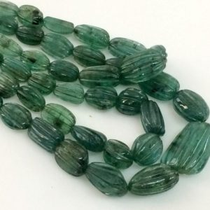 Shop Emerald Necklaces! 3x4mm – 13x19mm Emerald Hand Carving Beads, Original Green Emerald, Emerald For Necklace, 7 Inch, 25 Pcs Emerald – PGPA123   Natural genuine Emerald necklaces. Buy crystal jewelry, handmade handcrafted artisan jewelry for women.  Unique handmade gift ideas. #jewelry #beadednecklaces #beadedjewelry #gift #shopping #handmadejewelry #fashion #style #product #necklaces #affiliate #ad
