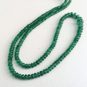Shop Emerald Beads! 2.5mm – 6mm Emerald Plain Rondelle Beads, Emerald Plain Beads, Emerald Plain Beads For Jewelry, Original Emerald (8IN To 16IN Options)   Natural genuine beads Emerald beads for beading and jewelry making.  #jewelry #beads #beadedjewelry #diyjewelry #jewelrymaking #beadstore #beading #affiliate #ad
