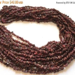 Shop Ruby Chip & Nugget Beads! Fine AAA Quality — Natural Ruby Uncut Chips Beads , 4 mm approx , 36 inch strand | Natural genuine chip Ruby beads for beading and jewelry making.  #jewelry #beads #beadedjewelry #diyjewelry #jewelrymaking #beadstore #beading #affiliate #ad