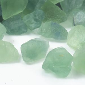 Raw Green Fluorite Nuggets – No Hole Natural Fluorite – Uncut Fluorite Stone Beads – Undrilled Stone Beads – Free Form Loose Stone -10 Pcs | Natural genuine chip Gemstone beads for beading and jewelry making.  #jewelry #beads #beadedjewelry #diyjewelry #jewelrymaking #beadstore #beading #affiliate #ad
