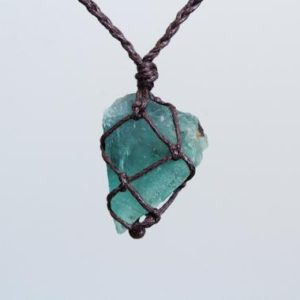 Shop Fluorite Necklaces! Raw Green Fluorite Necklace | Natural genuine Fluorite necklaces. Buy crystal jewelry, handmade handcrafted artisan jewelry for women.  Unique handmade gift ideas. #jewelry #beadednecklaces #beadedjewelry #gift #shopping #handmadejewelry #fashion #style #product #necklaces #affiliate #ad
