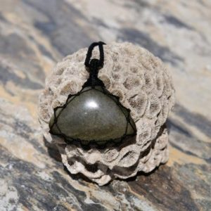 Shop Golden Obsidian Necklaces! Golden Obsidian Jewelry For Men, Gift For Birthday, Boyfriend Necklace With Large Stone Pendant | Natural genuine Golden Obsidian necklaces. Buy handcrafted artisan men's jewelry, gifts for men.  Unique handmade mens fashion accessories. #jewelry #beadednecklaces #beadedjewelry #shopping #gift #handmadejewelry #necklaces #affiliate #ad