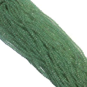 """Shop Green Amethyst Beads! Natural Green Amethyst Faceted Rondelle Beads, Natural Green Amethyst Rondelle Beads, Amethyst Gemstone Rondelles, Size 3mm-3.5mm 14"""" Strand   Natural genuine faceted Green Amethyst beads for beading and jewelry making.  #jewelry #beads #beadedjewelry #diyjewelry #jewelrymaking #beadstore #beading #affiliate #ad"""