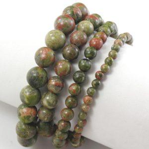 "Shop Unakite Bracelets! Handmade Natural Gemstone Unakite Bracelet Green Round Beads 7.5"" for Men Bracelet,Women Stretch Healing Reiki Bangle 4mm 6mm 8mm 10mm 12mm   Natural genuine Unakite bracelets. Buy handcrafted artisan men's jewelry, gifts for men.  Unique handmade mens fashion accessories. #jewelry #beadedbracelets #beadedjewelry #shopping #gift #handmadejewelry #bracelets #affiliate #ad"