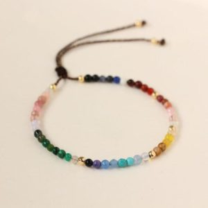 Shop Crystal Healing! Healing Crystal Chakra Bracelet-12 Zodiac Signs Bracelet-Constellations Bracelet-Stress Anxiety Relief Meditation Protection Yoga Bracelet | Shop jewelry making and beading supplies, tools & findings for DIY jewelry making and crafts. #jewelrymaking #diyjewelry #jewelrycrafts #jewelrysupplies #beading #affiliate #ad