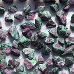 Shop Raw & Rough Ruby Zoisite Stones! High Quality Natural Ruby Zoisite Rough Gemstone Minerals Raw Uncut Rough Rock Wholesale Bulk Lot for Loose Gemstone Making | Natural genuine stones & crystals in various shapes & sizes. Buy raw cut, tumbled, or polished gemstones for making jewelry or crystal healing energy vibration raising reiki stones. #crystals #gemstones #crystalhealing #crystalsandgemstones #energyhealing #affiliate #ad