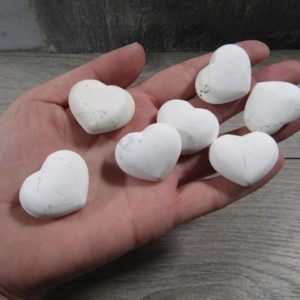 Shop Howlite Shapes! Howlite Flat Polish Stone Heart K381 | Natural genuine stones & crystals in various shapes & sizes. Buy raw cut, tumbled, or polished gemstones for making jewelry or crystal healing energy vibration raising reiki stones. #crystals #gemstones #crystalhealing #crystalsandgemstones #energyhealing #affiliate #ad