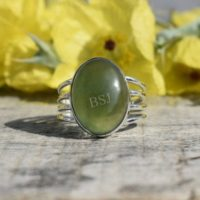 Nephrite Jade Ring, Jade Jewelry, Silver Ring, Boho Ring, Statement Ring, Gift For Her, Womens Ring, Artisan Ring, Christmas Sale, Mom Gift | Natural genuine Gemstone jewelry. Buy crystal jewelry, handmade handcrafted artisan jewelry for women.  Unique handmade gift ideas. #jewelry #beadedjewelry #beadedjewelry #gift #shopping #handmadejewelry #fashion #style #product #jewelry #affiliate #ad