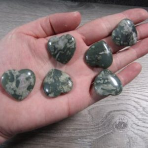 Shop Jade Shapes! Peace Jade Stone Flat Heart K298 | Natural genuine stones & crystals in various shapes & sizes. Buy raw cut, tumbled, or polished gemstones for making jewelry or crystal healing energy vibration raising reiki stones. #crystals #gemstones #crystalhealing #crystalsandgemstones #energyhealing #affiliate #ad