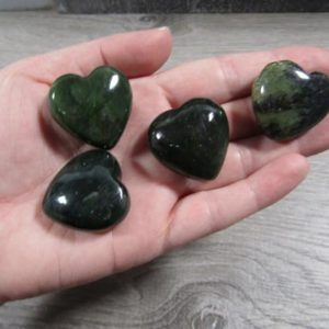 Shop Jade Shapes! Jade Stone Bc Heart K372 | Natural genuine stones & crystals in various shapes & sizes. Buy raw cut, tumbled, or polished gemstones for making jewelry or crystal healing energy vibration raising reiki stones. #crystals #gemstones #crystalhealing #crystalsandgemstones #energyhealing #affiliate #ad
