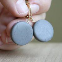 Grey Stone Earrings With Gold Lever Backs . Jasper Earrings Dangle . Gold Gemstone Earrings Leverback | Natural genuine Gemstone jewelry. Buy crystal jewelry, handmade handcrafted artisan jewelry for women.  Unique handmade gift ideas. #jewelry #beadedjewelry #beadedjewelry #gift #shopping #handmadejewelry #fashion #style #product #jewelry #affiliate #ad