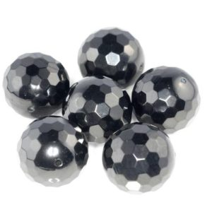 Shop Jet Beads! 13-14mm Black Jet Gemstone Organic Micro Faceted Round Loose Beads 16 inch Full Strand (90186940-887)   Natural genuine faceted Jet beads for beading and jewelry making.  #jewelry #beads #beadedjewelry #diyjewelry #jewelrymaking #beadstore #beading #affiliate #ad