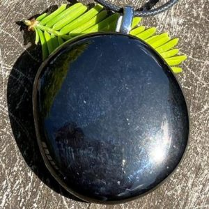 Shop Jet Necklaces! Unisex Jet Lignite Healing Stone Necklace with Positive Healing Energy!   Natural genuine Jet necklaces. Buy crystal jewelry, handmade handcrafted artisan jewelry for women.  Unique handmade gift ideas. #jewelry #beadednecklaces #beadedjewelry #gift #shopping #handmadejewelry #fashion #style #product #necklaces #affiliate #ad
